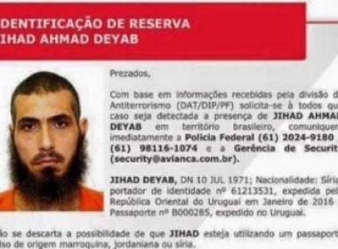 Polícia Federal diz que sírio foragido do Uruguai não está no Brasil