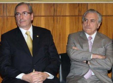 Temer aconselha Cunha a deixar presidência da Câmara; deputado teme prisão de esposa
