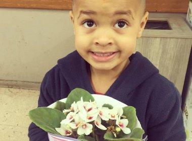 Menino empurra colega na escola e mãe obriga filho a levar flores: 'Não se bate em mulher'