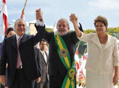 Lula defende medidas econômicas do governo interino: 'Temer está fazendo tudo certo'