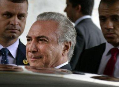 Brasil está 'distensionando', comenta Temer sobre eleição na Câmara