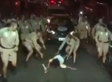 Dona do Magazine Luiza cai durante revezamento da tocha olímpica