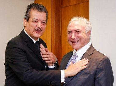 Temer se reúne com representantes da Maçonaria no Palácio do Planalto