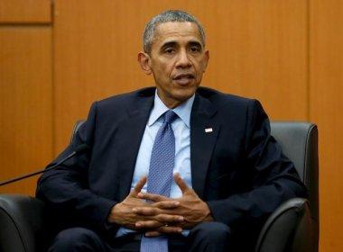 Obama não virá para Jogos Olímpicos por medo do Rio de Janeiro, diz coluna