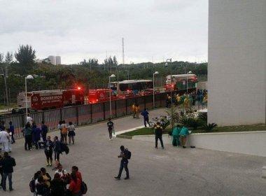 Princípio de incêndio faz prédio da delegação australiana na Vila Olímpica ser evacuado