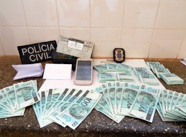 POLÍCIA  DA BAHIA PRENDE MULHER COM MAIS DE 15 MIL  EM  NOTAS FALSAS