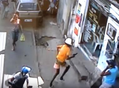 Vídeo registra momento em que jovem é morto em lan house m Águas Claras