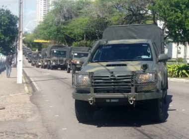 Tropas do exército chegam ao Rio Grande do Norte para combater ataques contra polícia