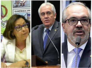 Senadores baianos votam a favor de Dilma; maioria decide pelo seguimento do processo