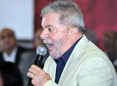 Lula diz que é perseguido politicamente: 'Daqui a pouco, estou que nem um pokémon'