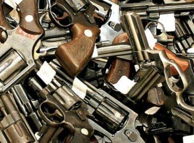 Governo mudará Estatuto do Desarmamento para que polícia use armas apreendidas