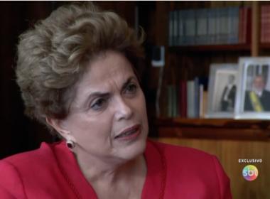 'Não chegaram', diz Dilma, sobre limite de seu corpo durante torturas durante a ditadura