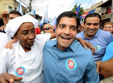 Ibope/TV Bahia: ACM Neto lidera com folga e tem 68% de intenções de voto