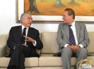 Julgamento de impeachment pode ser concluído antes do previsto, diz Renan a Temer
