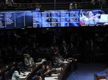 Senadores disputam para aparecer ao vivo no Jornal Nacional em discurso no impeachment