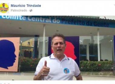Contrariando legislação eleitoral, candidato patrocina publicação no Facebook