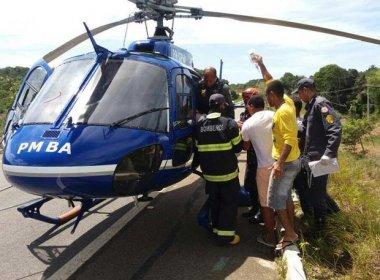 Mata de São João: Acidente na BA-099 deixa quatro pessoas em estado grave
