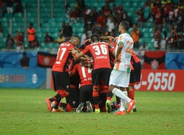 Vitória vence o América Mineiro e sai da zona de rebaixamento do Brasileirão