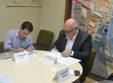 Governo assina protocolo de intenções para instalação de complexo eólico de R$ 1 bi
