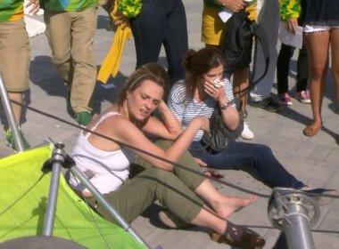 Vítimas de queda da câmera no Parque Olímpico decidem processar COI