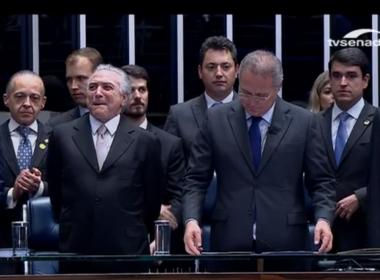 Após impeachment, Michel Temer toma posse como presidente da República