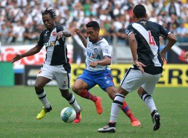 Bahia vence na Fonte Nova e mantém sequência negativa do Vasco na Série B