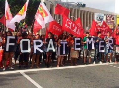 Ato em Salvador contra Michel Temer leva 8 mil pessoas à Barra, dizem organizadores