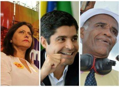 Ibope/TV Bahia: ACM Neto mantém 68%; Alice e Isidório têm crescimento tímido