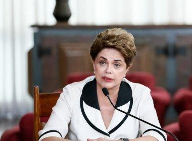 'Antes tarde do que nunca', afirma Dilma Rousseff sobre cassação de Eduardo Cunha
