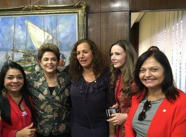 Dilma participa de programa de Jandira Feghali e vem a Salvador na próxima quinta