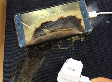 Fornecedora da Samsung afirma que bateria de aparelho não foi responsável por explosões
