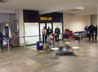 Jovem é morto a tiros no saguão do aeroporto de Porto Alegre