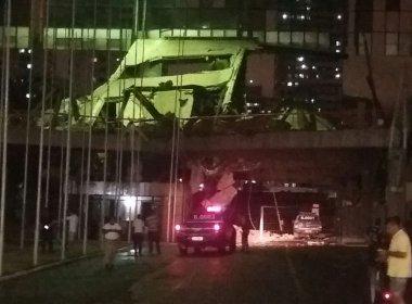 Não há mais vítimas dentro do Centro de Convenções, informa Corpo de Bombeiros