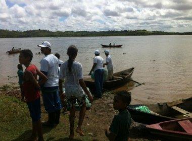 Organização pró-Rio Joanes promove evento para 'curtir o efeito negativo' da poluição
