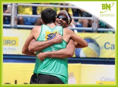 Baiano Ricardo conquista etapa de abertura do Circuito Brasileiro de vôlei de praia