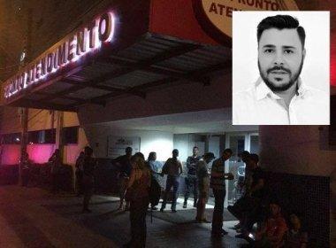 EM ATO POLÍTICO: PAI DE CANDIDATO A VEREADOR TENTA PROTEGER FILHO DE ASSALTO E MORRE