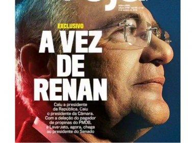 Delação de empresário ligado ao PMDB envolve Renan na Lava Jato, diz revista