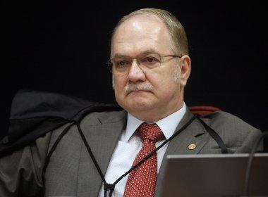 Fachin libera para julgamento no plenário do STF denúncia contra Renan Calheiros
