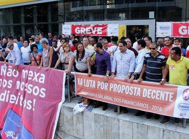 Bancos privados, BNB e BB retomam atividades; bancários da Caixa mantêm greve na Bahia