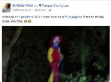 Depois dos Estados Unidos e Reino Unido, 'palhaços sinistros' são vistos em São Paulo
