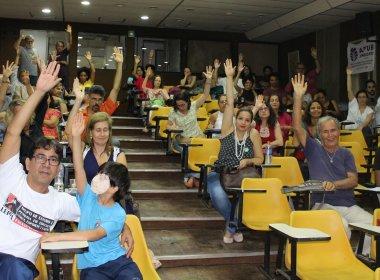 Professores da Ufba aprovam adesão a paralisação nacional no dia 11 de novembro