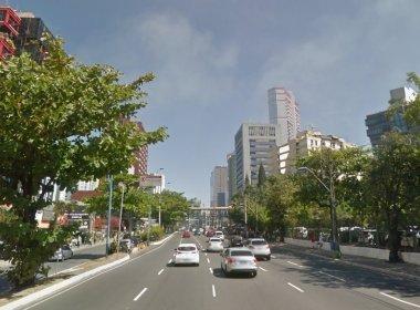 Trechos da Tancredo Neves serão interditados durante a madrugada para obras do metrô