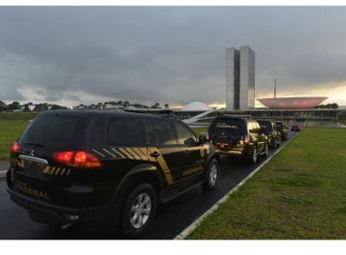 Polícia Federal faz ação no Congresso Nacional na manhã desta sexta