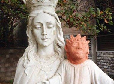 Restauração de imagem de Jesus Cristo vira motivo de piada em cidade do Canadá