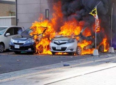 Explosões simultâneas em cidade do Japão deixam um morto e dois feridos