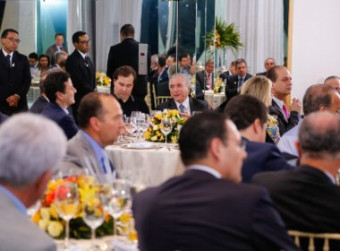 Governo vai oferecer novo jantar para base aliada antes de votação da PEC 241