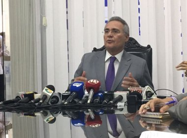 Renan critica ministro da Justiça: 'Falando mais do que devia'