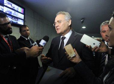 Renan Calheiros diz que 17 senadores pediram varreduras para identificar grampos