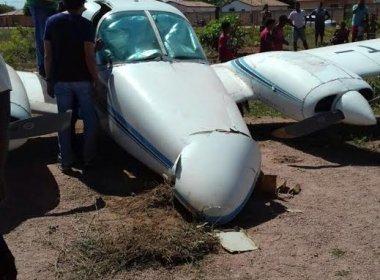 Avião com deputado José Rocha sofre acidente em Coribe