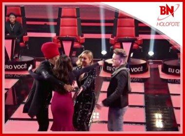 'The Voice': Lulu Santos se recusa a abraçar candidata que errou letra de música